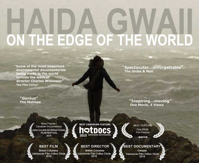 Haida Gwaii, on the edge of the world