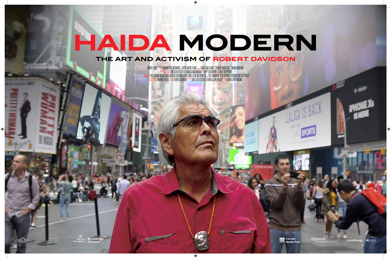 Haida Modern - The Art of Activism by Robert Davidson